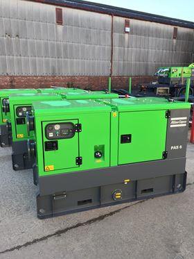 Service Pump Ltd chose Atlas Copco for their major hire fleet investment due to the quality of the PAS Range of diesel driven automatic dry prime pumps.