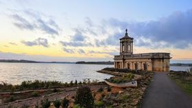 Rutland Water is the largest man-made (by area) reservoir in the UK.