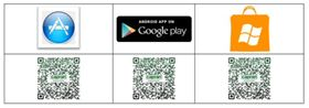 The iPumpMobile can be found in the App Store, Google Play or Windows Store.