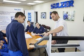 The training of new staff and apprentices is central to Sulzer retaining its knowledge and expertise.