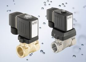The type 6213EV solenoid valves are available in brass and stainless steel as standard.