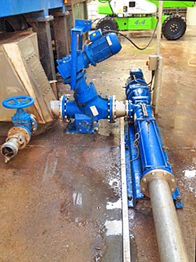 Mono progressing cavity pumps are helping to manage 12 000 tonnes of material each year at a major waste recycling plant in the UK.