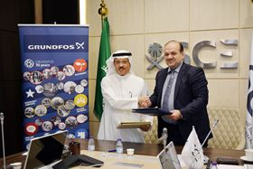 The MoU was signed by Eng Sulaiman I Al-Amoud, secretary general of SCE and Abdulaziz Daghestani, deputy general manager of Grundfos Saudi Arabia.