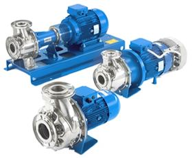 The Lowara e-series in-line and end-suction pumps exceed the 2015 European Ecodesign requirements