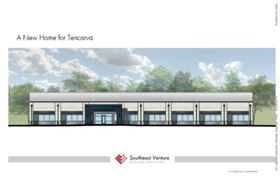 Architectural rendering of the new Tencarva Machinery Nashville Branch Office.