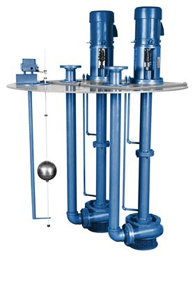 Vertiflo's Series 800 is designed for applications which include sump drainage, flood control and process drainage.