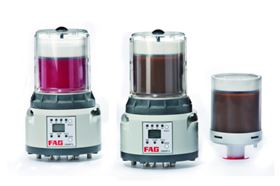 FAG CONCEPT 8 is a lubrication system for rolling bearings designed to ensure a constant, optimum supply of grease to the bearings without the need for manual intervention.