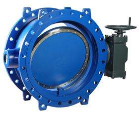 The Aporis butterfly valves are used for applications where huge volumes of water need to be transported and shut off reliably. (© KSB Aktiengesellschaft, Frankenthal).