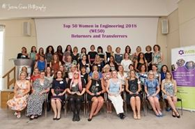 Winner of the Top 50 Women Engineers in 2018, when the theme was women returning and transferring to engineering careers.
