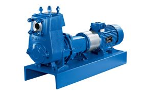 The latest version of the self-priming centrifugal Etaprime pump. (KSB Aktiengesellschaft, Frankenthal, Germany).