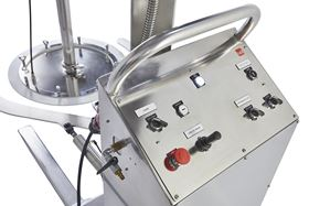 The follower plate system can be used to pump highly viscous substances.