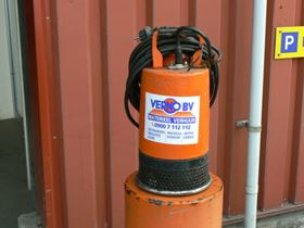 The LB250 submersible pump is thought to be the longest-serving Tsurumi pump in Europe.