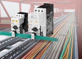 Eaton SmartWire-DT connection and communication technology eliminates the need for conventional control panel wiring.