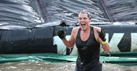 The Hull-timate Challenge is a 30-piece urban obstacle course to raise awareness of Hull's flood risk.