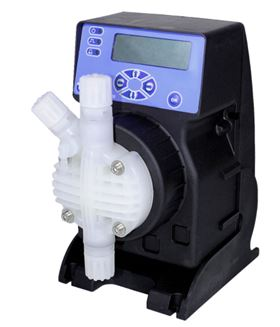 Etatron's PVDF pump head.