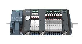 The new Type 8647 AirLINE SP valve island from Bürkert is compatible with the Siemens I/O system SIMATIC ET 200SP.