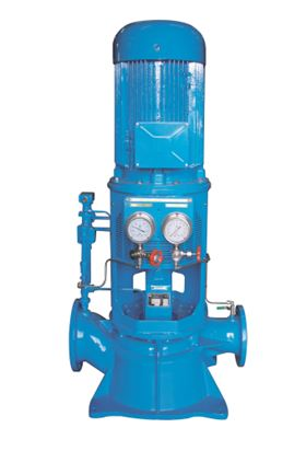A Garbarino vertical in line centrifugal pump.