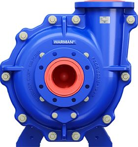 2nd generation Warman WGR pump for the sand and aggregate market.