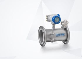 Krohne's Optisonic 7300 Biogas ultrasonic flowmeter