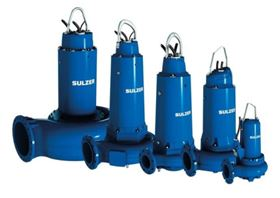 Submersible sewage pumps from Sulzer.