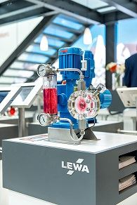 The Ecosmart diaphragm metering pump from Lewa GmbH.