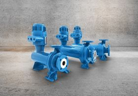 The four new pumps make a total of 12 different sizes in the series, all designed according to DIN EN ISO 2858.  (Image: LEWA GmbH)