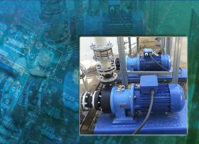 M Pumps magnetically coupled centrifugal model C MAG-P100 in PVDF  was selected by General Waters UK