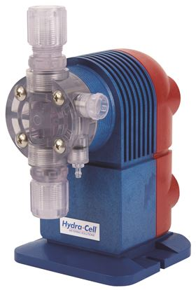 Wanner Engineering's new Hydra-Cell SM Series electronic solenoid metering pumps are designed for economical chemical injection.