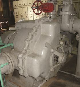 The 82-year-old Nash pump found in New Orleans.