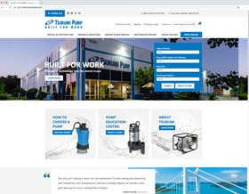 Tsurumi America's new website combines its informational site and online store.