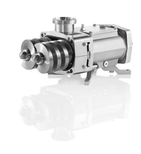 Fristam FDS double-screw pump – robust, versatile and hygienic.