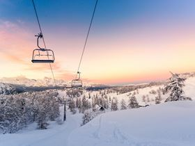 To ensure ideal snow quality and efficiency of the system, a snowmaking system must be designed with optimal precision from the start. Picture courtesy of Robert Fesus/Shutterstock.com