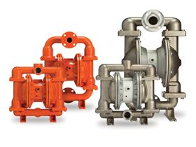 Wilden P420/430 and P820/830 FIT pumps offer the longest mean time between repair (MTBR).