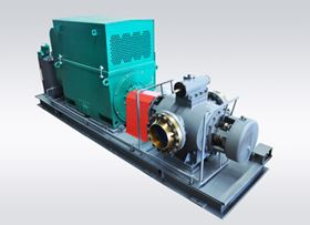 HWG pump skid. Huangshan RSP have the capacity to manufacture API 676 screw pumps.