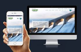 With the new website users can access content from smartphones, tablets and desktops.