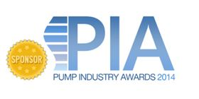 The Pump Industry Awards sponsor's logo.