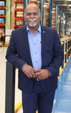 Saravanan Panneer Selvam, the new general manager of Grundfos India.