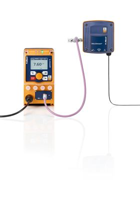 The solenoid-driven metering pump gamma/ X with DULCOnnect offers an intelligent solution for the digital linking of the system components.