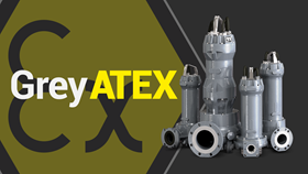 The Zenit's new Grey submersible pump series now has ATEX certification for explosion risk environments.