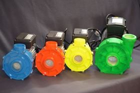 The four MK111 pumps in the Supa-Stelth range.