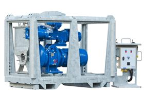 BBA's new line of  electrically driven solids handling pumps offer maximum performance at minimal cost.