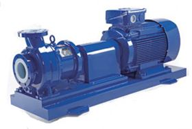 Iwaki America's MDW line of chemical process pumps.
