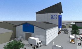 Artist's impression of SPP Pumps' new facility at Coleford, UK.