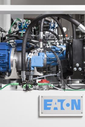 Eaton increases energy efficiency with variable speed drive hydraulic pump solutions