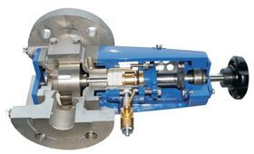 The chocolatier benefitted from the close-coupled internal gear pump.