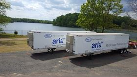 Pall's Aria FAST mobile units