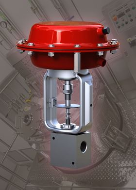 The HP-40 ultra high pressure control valve from Badger Meter, is available through Pump Engineering.