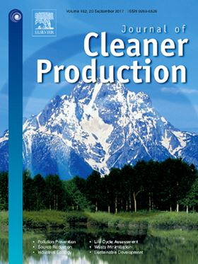 Elsevier's Journal of Cleaner Production.