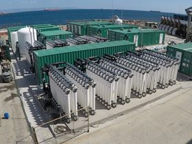 Danfoss core technologies in the largest Mediterranean desalination plant for industrial use.