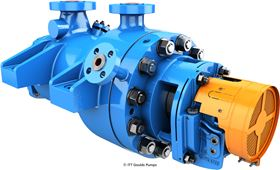 The Goulds Pumps' 7200SB is a high-temperature, high-pressure pump designed for harsh environments.